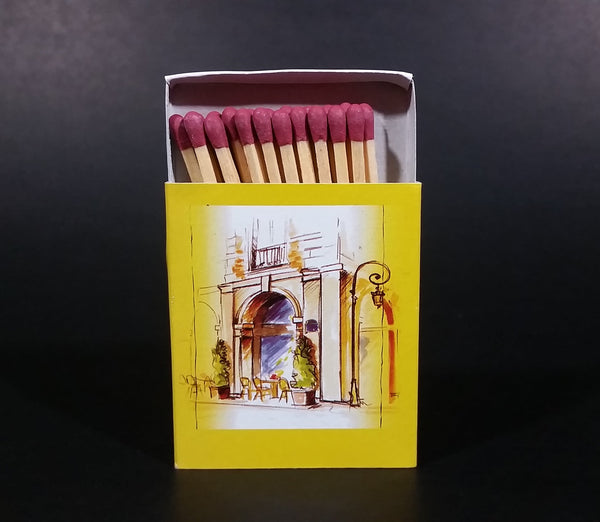 Ma Bourgogne Cafe Bistro Paris, France Wooden Matches Box Pack Promotional Souvenir Travel Collectible - Treasure Valley Antiques & Collectibles