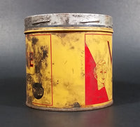 Vintage 1960s Vogue Mild Cigarette Tobacco Tin No Lid (Has grease marks overall) - Treasure Valley Antiques & Collectibles