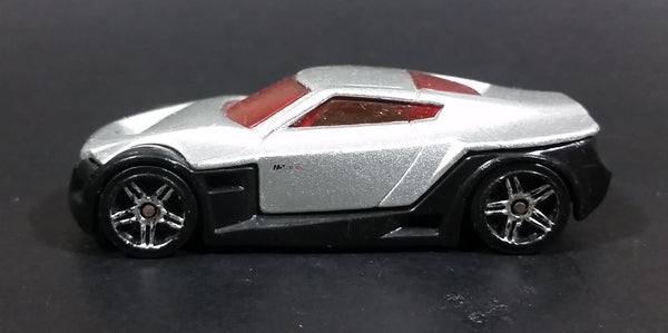 2005 Hot Wheels First Editions Symbolic Silver & Black Die Cast Toy Car Vehicle - Treasure Valley Antiques & Collectibles