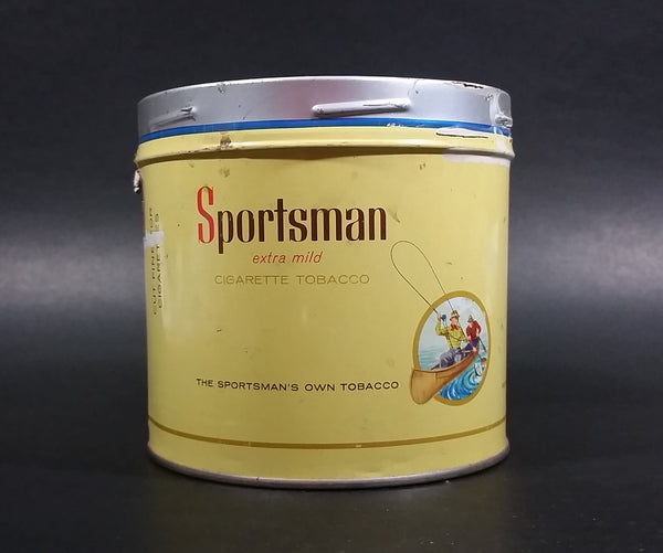 1960s Sportsman Extra Mild Cigarette Tobacco Tin No Lid