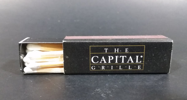 The Capital Grille Restaurant Seattle, Washington Wooden Matches Box Pack - Treasure Valley Antiques & Collectibles