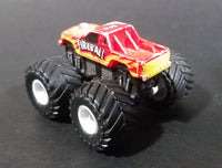 1990 LTGI Galoob Micro Machines Red Fireball Monster Truck - Pickup Style 1 - Treasure Valley Antiques & Collectibles