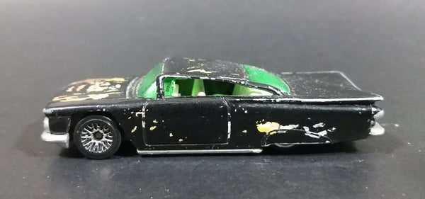 2001 Hot Wheels 1959 Chevrolet Impala Monster #1 Black Die Cast Toy Low Rider Car Vehicle - Treasure Valley Antiques & Collectibles