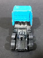 1987 Matchbox DAF 3300 Space Cab Blue Semi Tractor Truck Die Cast Toy Car Vehicle - Treasure Valley Antiques & Collectibles