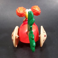 1987-1988 Red Fraggle Rock Radish Shaped Toy Car Vehicle McDonald's Happy Meal Toy - Treasure Valley Antiques & Collectibles