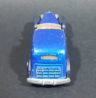 1989 Hot Wheels '35 Classic Caddy Blue Die Cast Toy Car Vehicle - Treasure Valley Antiques & Collectibles
