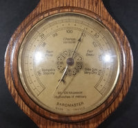 Vintage Nautical Style Baromaster Weather Station - Thermometer missing - Treasure Valley Antiques & Collectibles