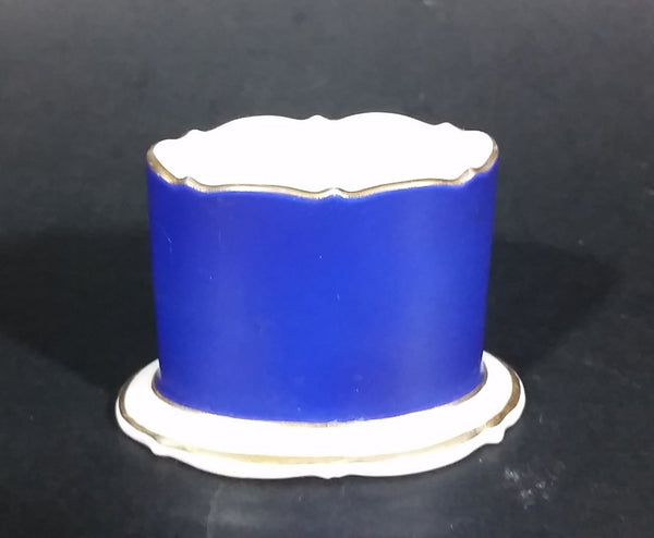 Late 1940s Royal Bayreuth Porcelain Toothpick Holder - Treasure Valley Antiques & Collectibles