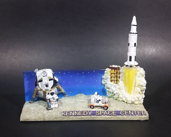 1999 SNCO Kennedy Space Center Lunar Landing and Shuttle Launch Decorative Souvenir Diorama - Treasure Valley Antiques & Collectibles