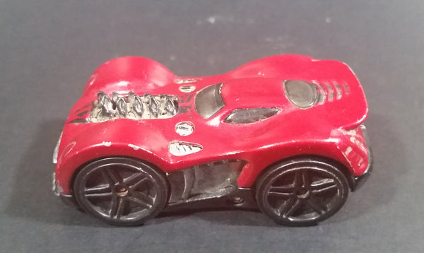 2006 Hot Wheels L'Bling Metalflake Dark Red 18/96 Die Cast Toy Car Vehicle - Treasure Valley Antiques & Collectibles