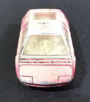 1970s Corgi Juniors Whizzwheels #77 Ital Design Bizzarrini Manta Hot Pink Die Cast Toy Car Vehicle - Treasure Valley Antiques & Collectibles
