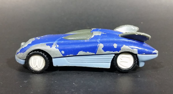 1994 McDonald's Hot Wheels Turbine 4-2 #5 Blue Die Cast Toy Car - Happy Meal - Treasure Valley Antiques & Collectibles