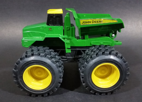 Ertl John Deer Monster Treads Green and Yellow Dumper Truck 46039 - Treasure Valley Antiques & Collectibles