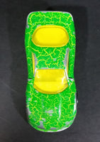 1996 Hot Wheels Krackle Series '93 Chevrolet Camaro Green Die Cast Toy Car Vehicle - McDonald's Happy Meal