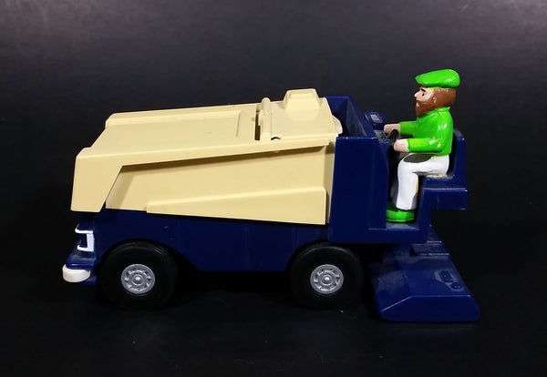 Collectible 1990 KST Wayne Gretzky Overtime Hockey Zamboni with Driver Toy Vehicle - Treasure Valley Antiques & Collectibles