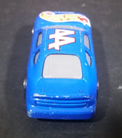 2000 Hot Wheels Racer Nascar #44 7/20 Blue Die Cast Toy Race Car Vehicle McDonald's Happy Meal - Treasure Valley Antiques & Collectibles