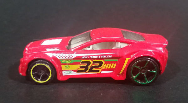 2013 Hot Wheels HW Racing Thrill Racers Torque Twister Red Die Cast Toy Car Vehicle - Treasure Valley Antiques & Collectibles