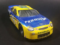 1998 Racing Champions Nascar #16 Ted Musgrave Primestar 1/24 Scale Ford Taurus Blue and Yellow Die Cast Model Toy Race Car Vehicle - Treasure Valley Antiques & Collectibles