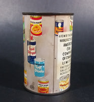 Vintage American Can Company of Canada Tin Can Coin Bank - Treasure Valley Antiques & Collectibles