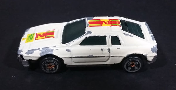 Vintage Summer Marz Karz Lotus Esprit Turbo White Stripe Die Cast Toy Car Vehicle - S8557F Made in China - Treasure Valley Antiques & Collectibles