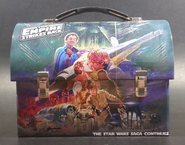 2012 Star Wars The Empire Strikes Back Tin Box Lunch Storage Container w/ Handle - Treasure Valley Antiques & Collectibles