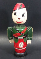 Vintage Wooden Soldier Nodder Bobble Head Coin Bank - Treasure Valley Antiques & Collectibles