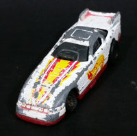1993 Hot Wheels Racing Series Probe Funny Car 4/8 White Die Cast Toy Race Car Vehicle McDonald's Happy Meal