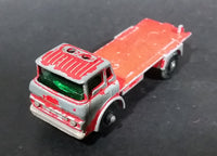 1967-1972 Lesney Matchbox No. 44 GMC Refrigerator Truck Red (Missing back) - Treasure Valley Antiques & Collectibles