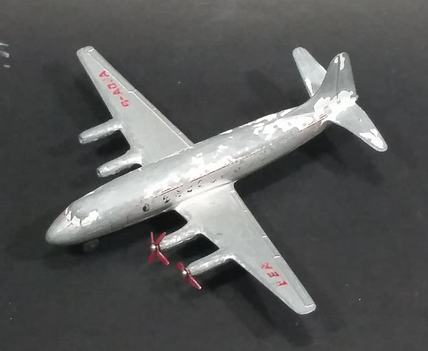 1960s Dinky Toys No. 708 Meccano Vickers Viscount 800 Air Liner B.E.A. British European Airways Model Plane - Treasure Valley Antiques & Collectibles