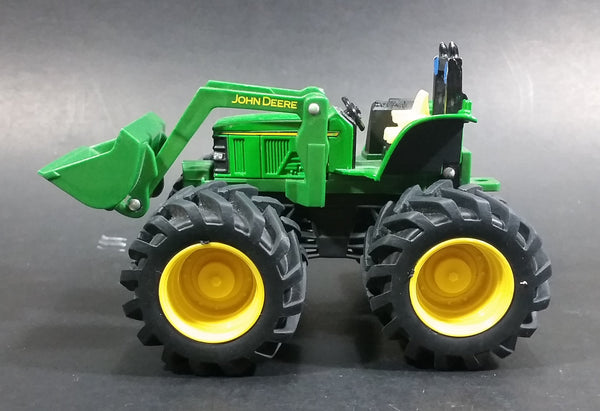 ERTL John Deere Monster Treads Offroad Farm Tractor with Front End Loader Die Cast and Plastic Toy Farming Machinery - Treasure Valley Antiques & Collectibles