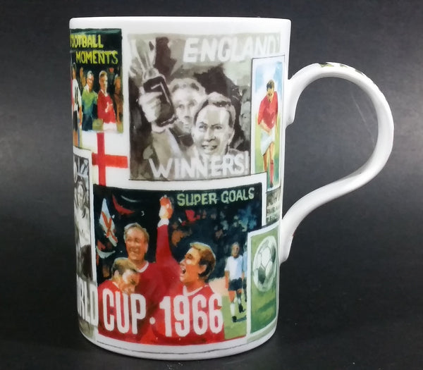 Rare Vintage 1966 World Cup Football Soccer England Winners Fine Bone China Coffee Mug - Oxford England - Treasure Valley Antiques & Collectibles