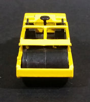 1989 Hot Wheels '69 Road Roller Yellow Die Cast Toy Construction Equpment Machinery Vehicle - Treasure Valley Antiques & Collectibles