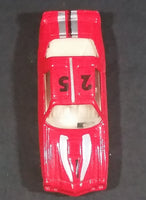 High Speed Corgi 1970s Chevrolet Camaro Red #25 w/ Grip Hood Stripes Toy Muscle Car Vehicle - Treasure Valley Antiques & Collectibles
