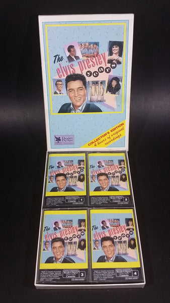 1992 BMG Music The Elvis Presley Years Reader's Digest Limited Edition Set of 4 Audio Cassettes in Box