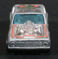 1976 Hot Wheels Super Chromes Gremlin Grinder Redline Die Cast Toy Car Vehicle Hong Kong - Treasure Valley Antiques & Collectibles