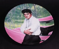 "1988 Delphi Elvis Presley Looking At A Legend Limited Edition Collector Plate 1 ""Elvis at the Gates of Graceland"" - Treasure Valley Antiques & Collectibles"