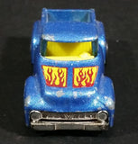 1982 Hot Wheels '56 Hi-Tail Hauler Blue Ford Pickup Truck Die Cast Toy Car Vehicle