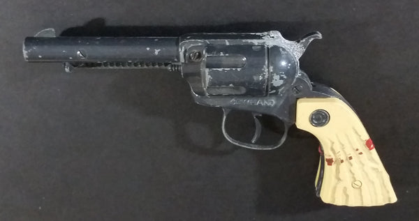 Vintage Nichols Cowhand Black Die Cast and Plastic Toy Cap Gun Made in U.S.A - Treasure Valley Antiques & Collectibles