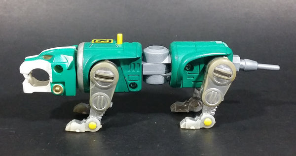 Vintage 1980s W.E.P. Voltron Green Lion Animal #3 Action Figure - Treasure Valley Antiques & Collectibles