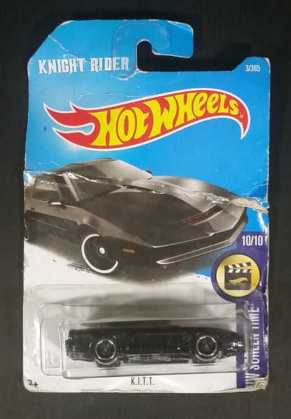 2017 Hot Wheels HW Screen Time Knight Rider K I T T  Black Die Cast Toy Car  Vehicle - New in Package Sealed