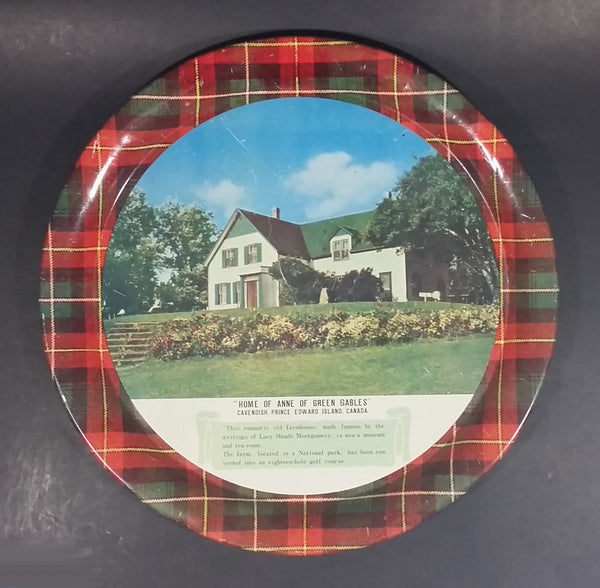 "Rare Vintage Home Anne of Green Gables Cavendish, Prince Edward Island 11"" Round Serving Tray - Treasure Valley Antiques & Collectibles"