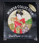 Dia Pearl Japan New Chokin 24KT Gold Plated Compact Mirror Lady's Accessory