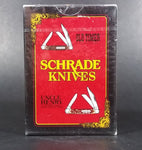 Vintage 1980s Schrade Knives Old Timer Uncle Henry Playing Cards Sealed Still New in Package - Treasure Valley Antiques & Collectibles