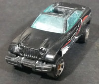 2000 Hot Wheels Future Fleet 2000 Series Jeep Jeepster Black Die Cast Toy Car Vehicle - Treasure Valley Antiques & Collectibles