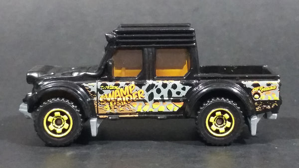 2016 Matchbox MBX Explorers Swamp Raider Truck Black Die Cast Toy Car Vehicle - Treasure Valley Antiques & Collectibles