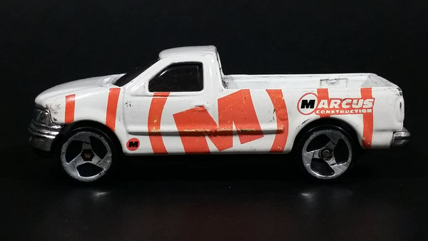 1998 Hot Wheels Rad Rigs 1997 Ford F-150 White Die Cast Toy Dream Super Car Vehicle - Treasure Valley Antiques & Collectibles