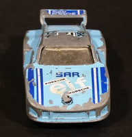 1983-85 Matchbox Racing Porsche 935 Light Baby Blue Die Cast Toy Race Car Vehicle - Treasure Valley Antiques & Collectibles