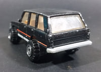 1996 Hot Wheels Range Rover Metallic Black Die Cast Toy Car Vehicle - Treasure Valley Antiques & Collectibles