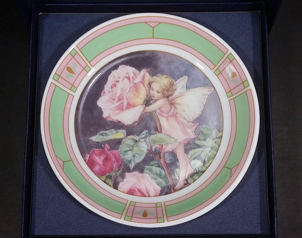 "Royal Worcester ""Flower Fairies"" Decorative Collector Plate - The Estate of Cecily Mary Barker 1998 - Treasure Valley Antiques & Collectibles"