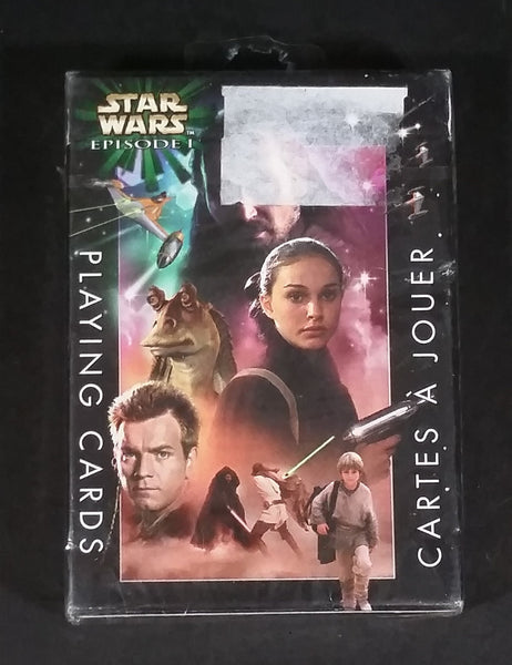 Star Wars Episode 1 Heroes Playing Cards Pack - New never opened, still sealed - Treasure Valley Antiques & Collectibles